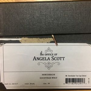 The Office of Angela Scott Shoes - Mr. Dorchester oxfords